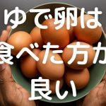 ゆで卵ダイエットの体験談【これで30kg痩せた】