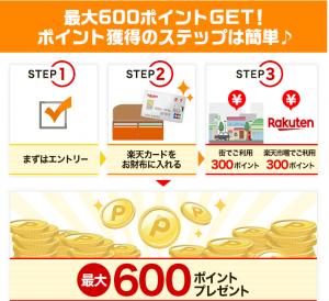 楽天カード新規キャンペーン3
