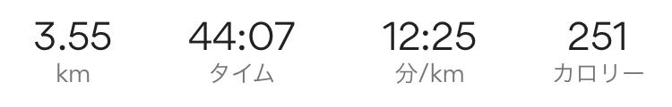 115日目ウォーキング記録1